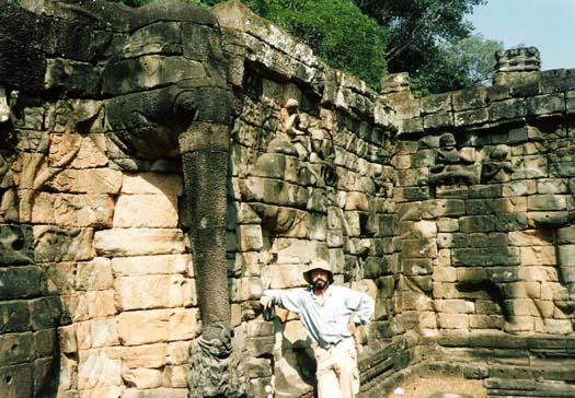 Angkor Terraza De Los Elefantes